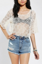 Crochet top like Marianas at Urban Outfitters