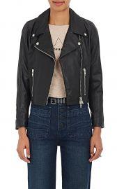 Crop Moto Jacket by Barneys New York XO Jennifer Meyer at Barneys