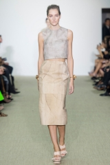 Crop top by Giambattista Valli at Style.com