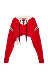 Cropped Hockey Sweater by Monse at Moda Operandi