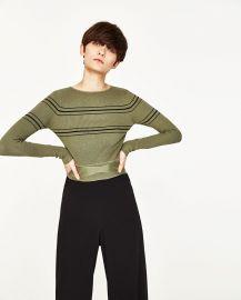 Cropped Sweater at Zara