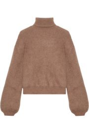 Cropped Turtleneck Sweater by Tom Ford at Net A Porter
