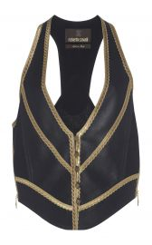 Cropped Vest by Roberto Cavalli at Moda Operandi