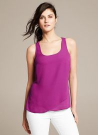 Crossover Tank at Banana Republic