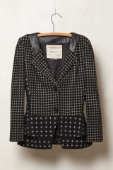 Crosswise knit jacket at Anthropologie