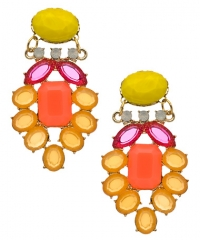 Crystal Belinda Earrings by David Aubrey at Max & Chloe