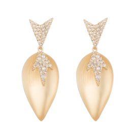 Crystal Encrusted Dangling Starburst Post Earring at Alexis Bittar