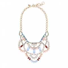 Crystal Lace Necklace at J. Crew