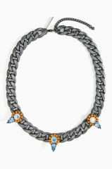 Crystalize Chain Necklace at Nasty Gal