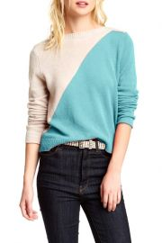 Cullen Cashmere Colorblock Sweater at Nordstrom Rack