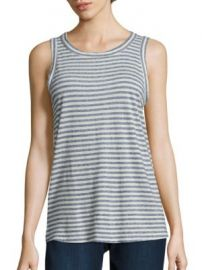 Current Elliott - Striped Muscle Tee at Saks Fifth Avenue