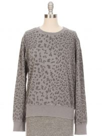 Current Elliott Leopard Print Sweatshirt at Ron Herman