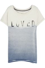 Current Elliott Loved Distressed Tee at Net A Porter