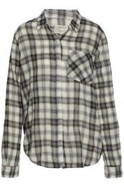 Current Elliott Plaid Shirt at The Outnet