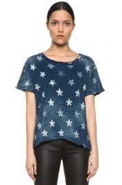 Current Elliott The Freshman Star Print Tee at Forward