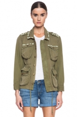 Current Elliott The Lone Soldier Jacket at Forward by Elyse Walker
