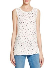Current Elliott The Muscle Ditsy Floral Tee at Bloomingdales