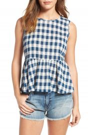 Current Elliott The Peplum Tank at Nordstrom