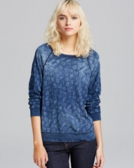 CurrentElliott Sweatshirt - The Letterman Paisley at Bloomingdales