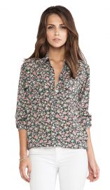 CurrentElliott The Perfect Shirt in 90s Floral  REVOLVE at Revolve