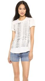 CurrentElliott The Rolled Sleeve Crew Tee at Shopbop