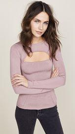 Cushnie Et Ochs Devera Long Sleeve Knit Top at Shopbop