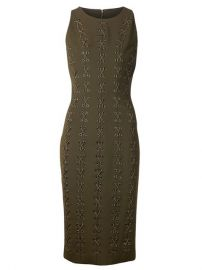 Cushnie Et Ochs Lace-up Detailing Dress - at Farfetch