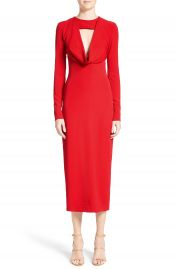 Cushnie et Ochs Cowl Neck Pencil Dress at Nordstrom