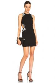 Cut Away Sequin Flap Dress by Christopher Kane at Forward