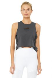 Cut it Out Cropped Tank by Alo at Aloyoga