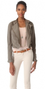 Cutwork moto jacket by Free People at Shopbop