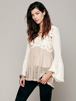 Cutwork pieced tunic by Free People at Free People