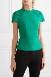 Cymatia crepe top at Net A Porter