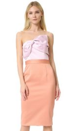Cynthia Rowley Strapless Bow Dress at Shopbop