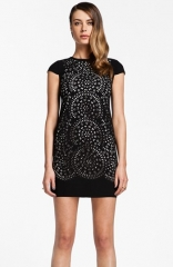 Cynthia Steffe Laser Cut Shift Dress at Nordstrom