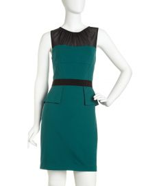 Cynthia Steffe Peplum Dress at Last Call