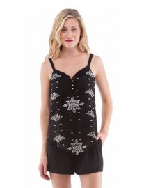 Cynthia Vincent Pointed Cami at Avenue K
