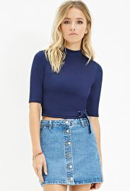 D-Ring Belted Top  Forever 21 - 2000180449 at Forever 21