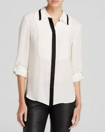 DIANE von FURSTENBERG Blouse - Quiana Silk at Bloomingdales