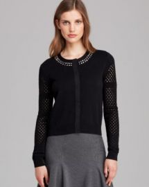 DIANE von FURSTENBERG Cardigan - Donna Embellished at Bloomingdales