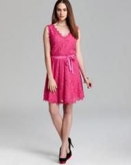 DIANE von FURSTENBERG Dress - Luella Sleeveless Lace at Bloomingdales