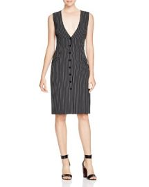 DIANE von FURSTENBERG Gilet Pinstripe Dress at Bloomingdales