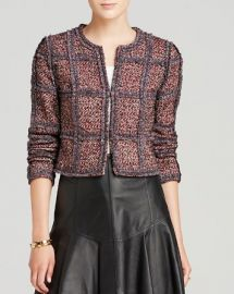 DIANE von FURSTENBERG Jacket - Tweed at Bloomingdales