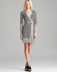 DIANE von FURSTENBERG Wrap Dress - Tallulah Silk at Bloomingdales
