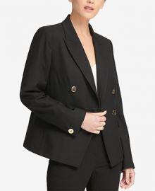 DKNY Double-Breasted Jacket  Women -  Jackets   Blazers - Macy s at Macys