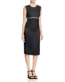 DKNY Mixed Media Sheath Dress at Bloomingdales