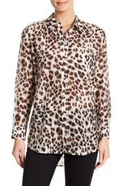 7075e9ed6fff3 WornOnTV  Kristen s leopard print blouse on Days of Our Lives ...
