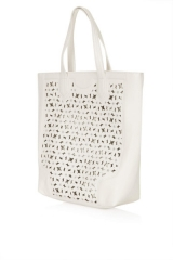 Daisy Cutwork Tote at Topshop