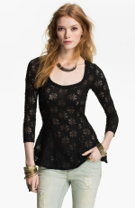 Daisy pointelle top by Free People at Nordstrom at Nordstrom