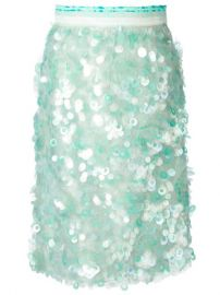 Daizy Shely Paillettes Skirt - Excelsior Milano at Farfetch